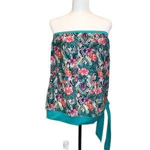 Strapless Bathing Suit Top 3X-4X